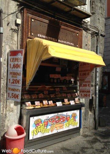 Crocchè di patate: Friggitoria napoletana.
