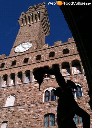 Bruschetta: Firenze, Palazzo Vecchio.