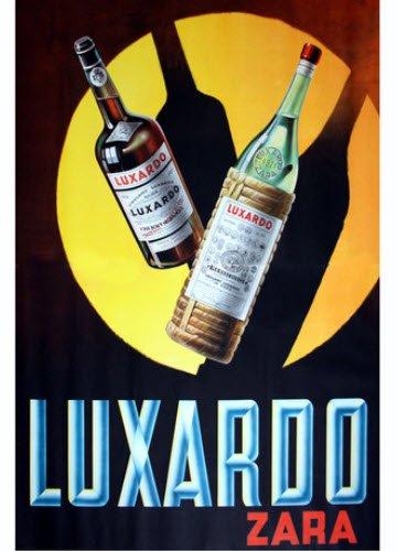 Maraschino liqueur: Luxardo's advertising poster (3) (crt-01)