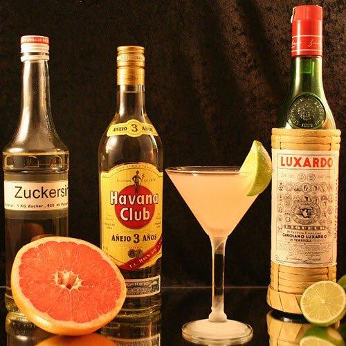 Maraschino liqueur: Cocktail 'Hemingway Special' (cc-03)