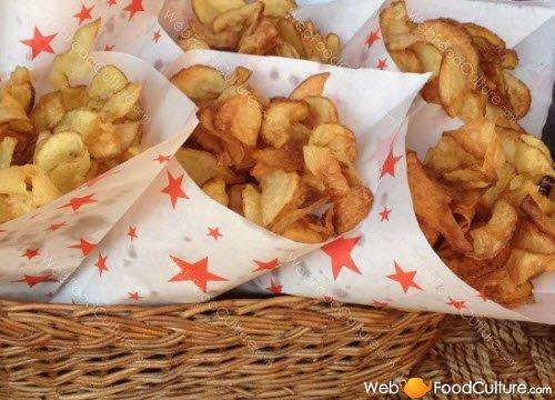 Potato chips: Potato chips.