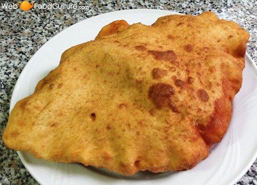 Fried calzone.