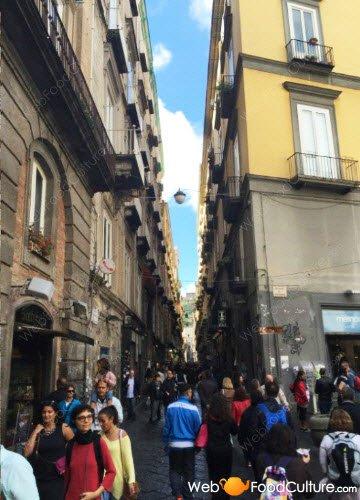 Naples, 'Spaccanapoli'.