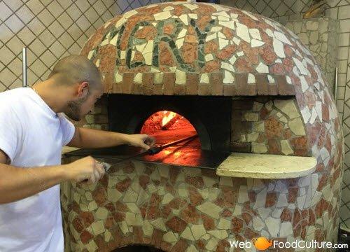 Margherita pizza: The original pizza oven.