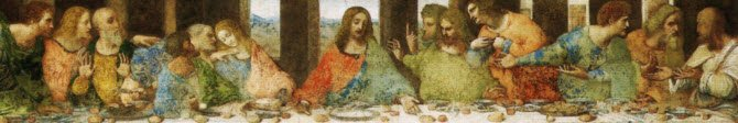 Panettone cake: Milan,'The last supper', Leonardo (img-04)
