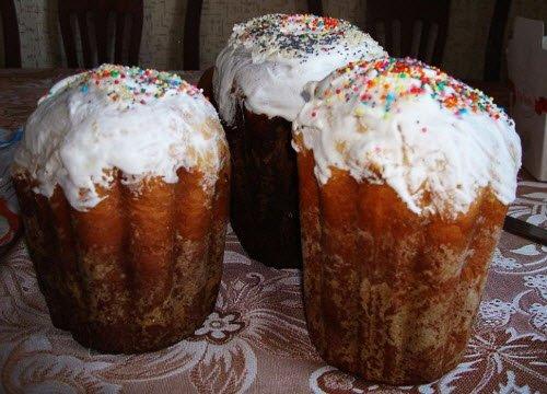 Panettone cake: 'Kulič' (cc-02)