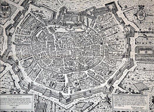Panettone cake: Milan topography, 1573 (img-03)