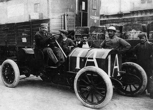 Vino Marsala: Vincenzo Lancia, 1908, Targa Florio (img-05)