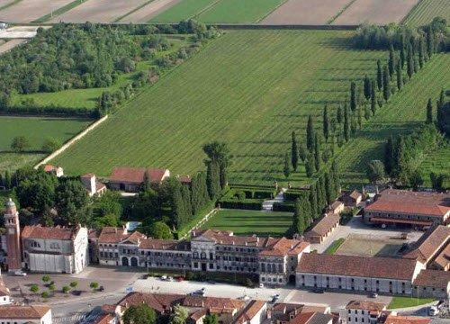 Vino Friularo: Dominio di Bagnoli, veduta aerea (crt-01)