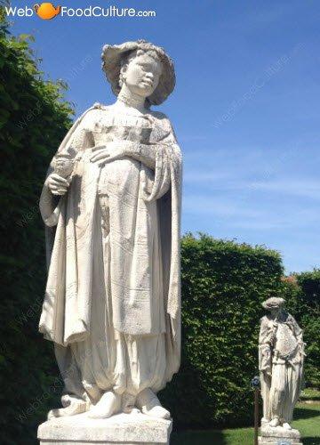 Vino Friularo: Dominio di Bagnoli, statua 01.