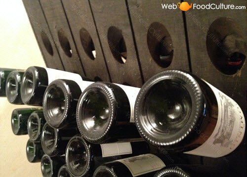 Vino Friularo: bottiglie.