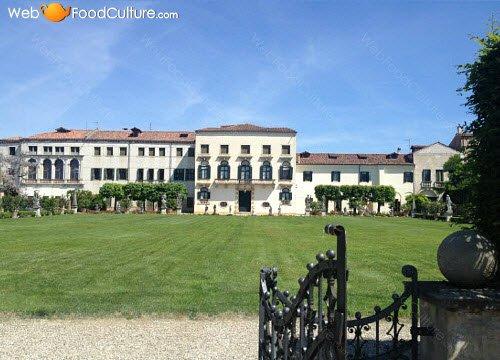 Vino Friularo: Villa Borletti-Widmann, Bagnoli.