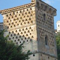 Ballotta, Galileo's Trattoria: Dovecote tower, Palazzo Panicali (cc-01)