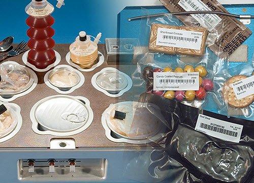 Cibo nello spazio: i vassoi per alimenti (img-04, img-02)
