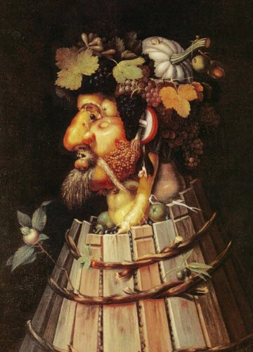 Renaissance banquets by Vatel: The Autumn, by G.Arcimboldo (img-04)