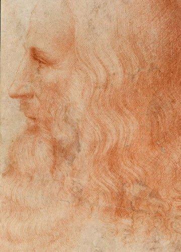 Leonardo da Vinci and wine: Leonardo da Vinci, portrait (img-05)