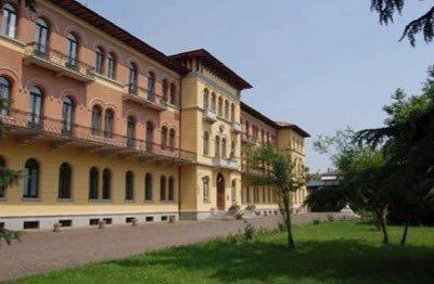 Prosecco wine: Istituto Cerletti, facade (cc-02)