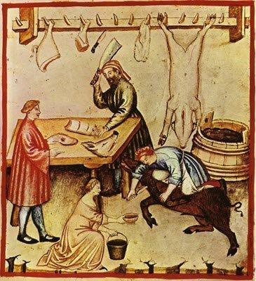 Pork meat, from Tacuino Sanitatis, XIV Cen.(img-05)
