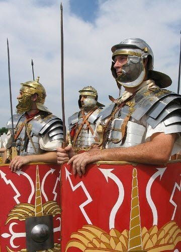Legionari romani, ricostruzione (cc-02)
