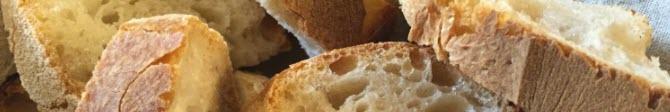 Bruschetta: Il pane della bruschetta.