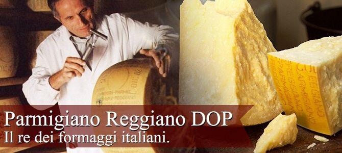 Parmigiano Reggiano, il re dei formaggi (crt-01)