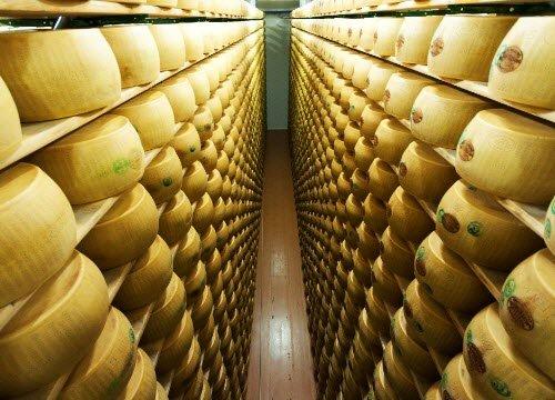 La stagionatura del Parmigiano Reggiano (crt-01)