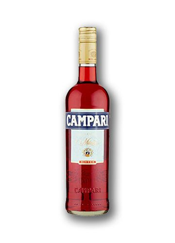 Bottle of Bitter Campari.