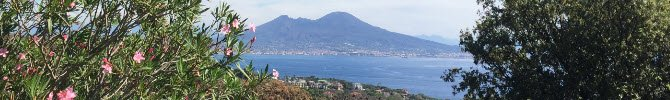 View of the Gulf of Naples.