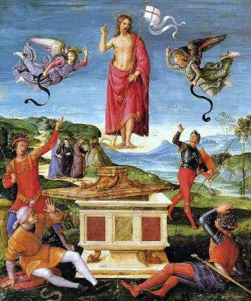 Pastiera napoletana: La Resurrezione di Gesù Cristo, Raffaello (img-05)