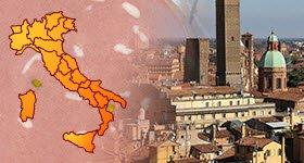 Mortadella Bologna PGI: production areas (crt-01)