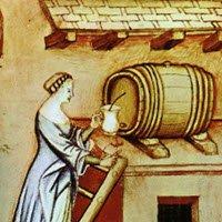Balsamic Vinegar: Vinegar, Tacuina sanitatis, XIV Secolo (img-02)