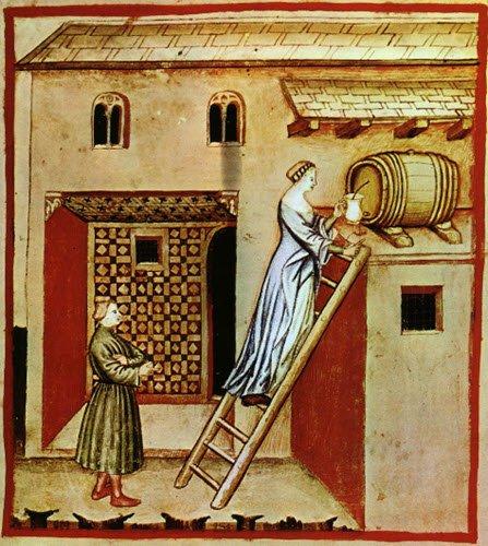 Balsamic Vinegar: Aceto, Tacuina sanitatis, XIV Secolo (img-02)
