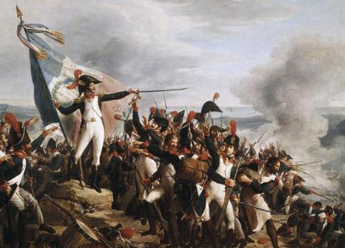 Cotolette alla Milanese: Truppe francesi durante la battaglia di Montenotte (img-03)