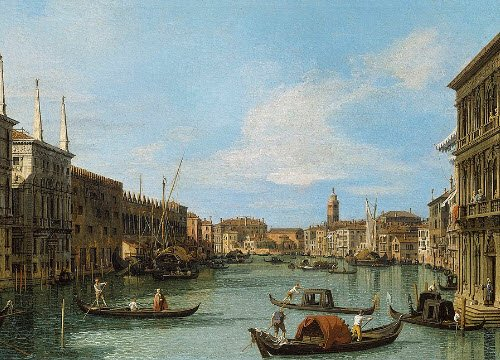 Venetian Frittelle: 'The Grand Canal from the Palazzo Vendramin-Calergi' (img-05)