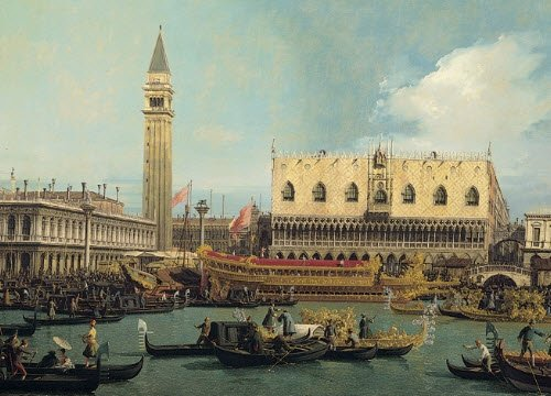 Frittelle veneziane: 'Il Bucintoro attraccato nel giorno dell'Ascensione' (img-07)