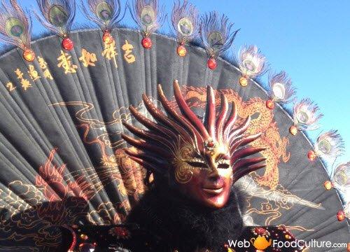 Frittelle veneziane: Maschere del carnevale di Venezia.