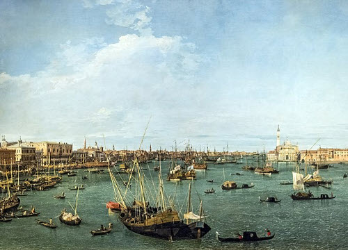 Venetian Galani: Canaletto - Bacino di San Marco (img-03)