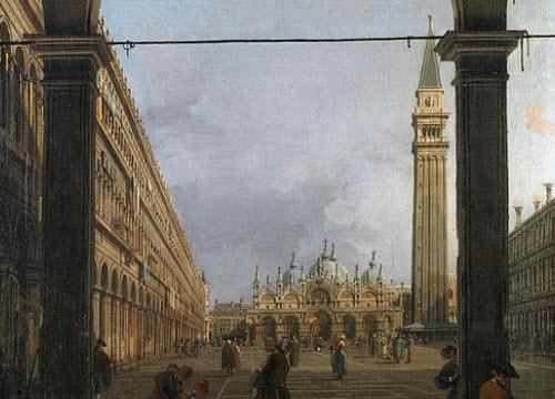 Venetian Galani: Canaletto - Venice, Piazza San Marco (img-04)
