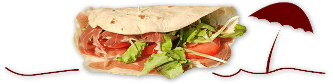 Piadina Romagnola: the delicious specialty from Romagna.