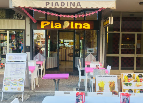 Piadina Romagnola: the places of Piadina (crt-01)