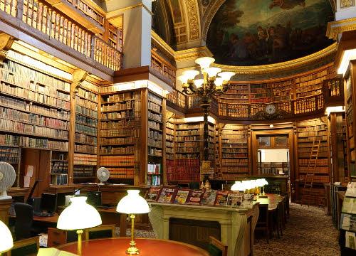 Piadina Romagnola: Bibliothèque de l'Assemblée Nationale, Bourbon Palace, Paris (cc-03)