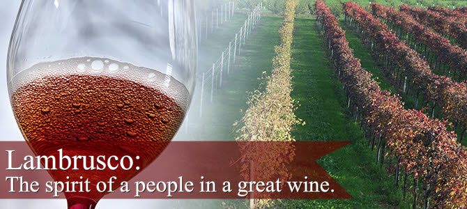 Lambrusco: the spirit of a people in a great wine (crt-01)