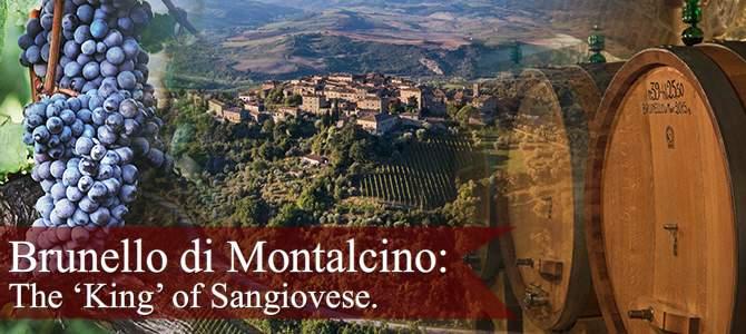 Brunello di Montalcino: the 'king' of Sangiovese (crt-03; crt-04)