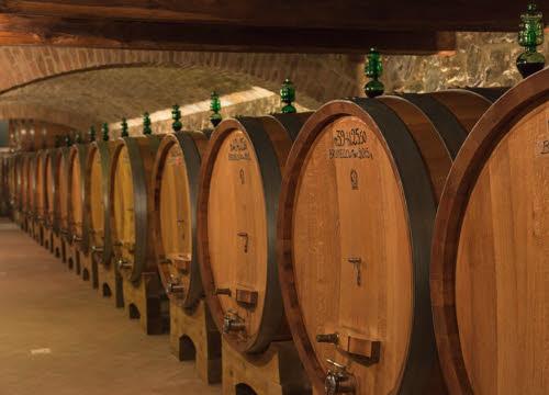 Brunello di Montalcino: l'affinamento in botte (crt-01)