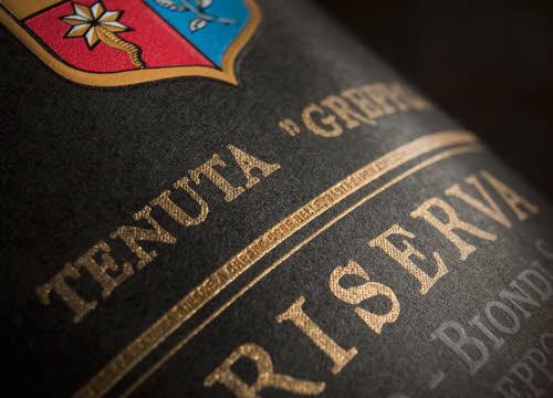 Brunello di Montalcino: etichetta Biondi-Santi (crt-02)