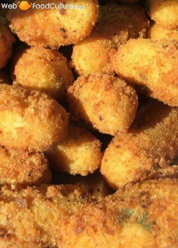 Crocchè di patate napoletani: dettaglio.
